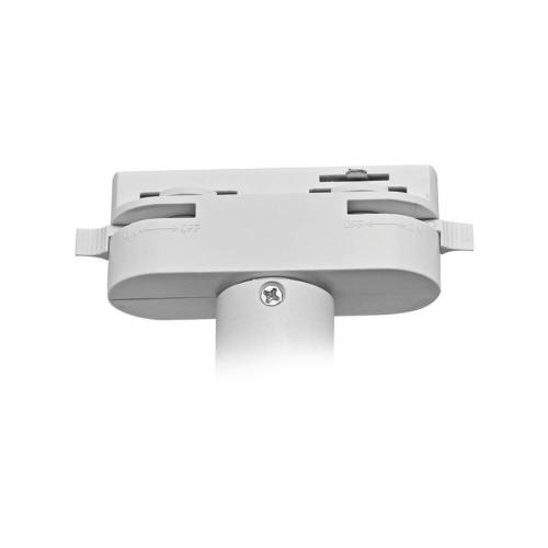 VIVALUX - Адаптор за релсов монтаж за релсови осветителни системи HEAD - бял VIV004080