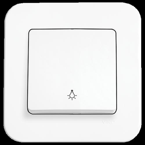 VIKO - One-way Push Button 90420003 white Rollina