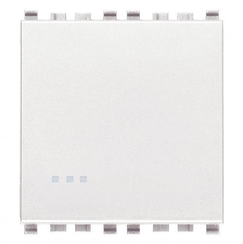 VIMAR - 20001.B.2 - Eikon Еднополюсен ключ 1P 16A 2M бял