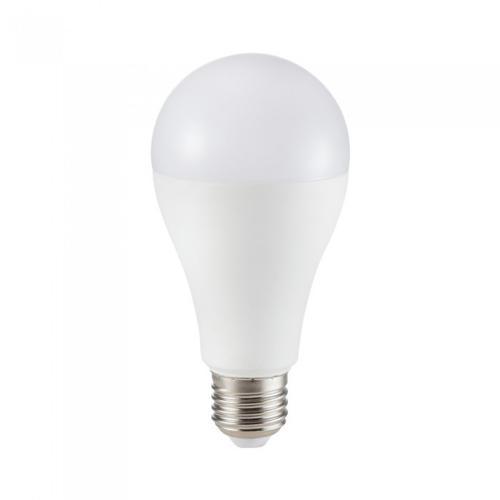 V-TAC - LED Bulb 12W E27 A65 CRI >95 Plastic 4000K SKU: 7483 VT-2212,  2700К-7482, 6400К-7484