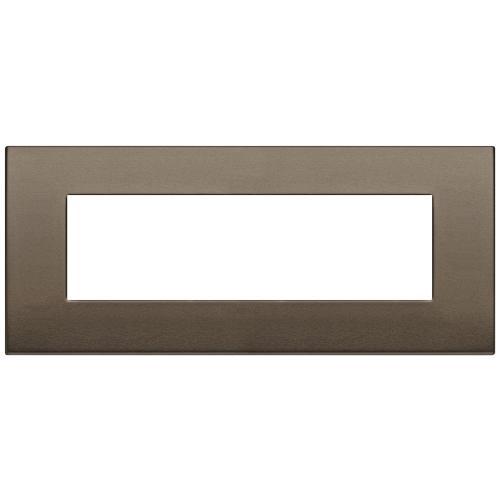 VIMAR - 19657.17 Arke Седеммодулна рамка Classic dark bronze