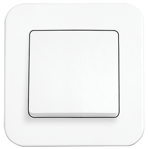 VIKO - Ключ единичен Rollina бял 90420001