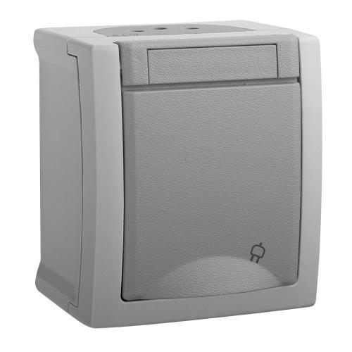 PANASONIC - Socket 2P+E WPTC4212-2GR Pacific Panasonic IP54