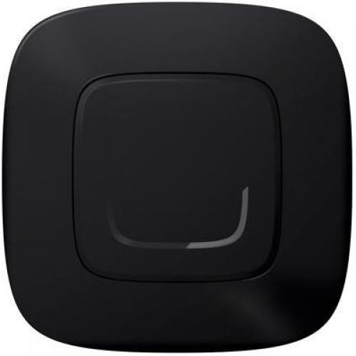 LEGRAND - Ключ/димер с компенсатор жичен Smart Valena Allure Черен с рамка Legrand Netatmo 752884