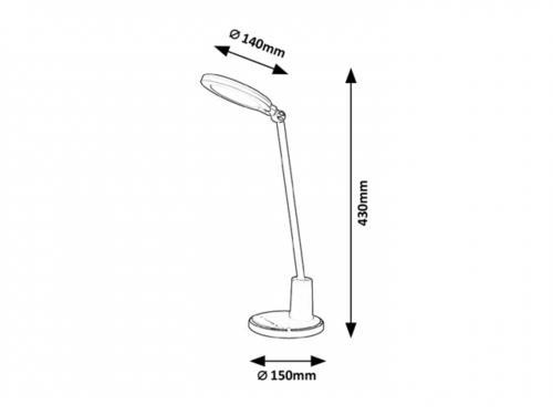 RABALUX - Настолна лампа Tekla 2977 LED 10W