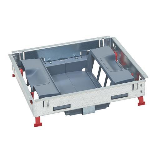LEGRAND - Основа за подова кутия 12 (2х6) модула за вертикален монтаж на механизми 88024
