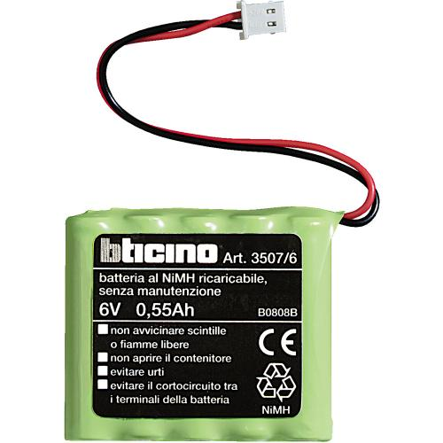 BTICINO - 3507/6 Батерия 6V за централа за отопление