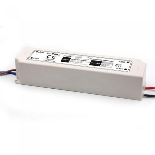 V-TAC - LED Захранване 100W Plastic 12V IP67 5 год. Гаранция SKU: 3251 VT-22105