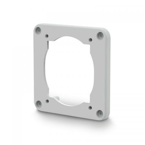 SCAME - Фланец с външен размер 95х95мм за панелни контакти 70х87мм Protecta IP66 137.151
