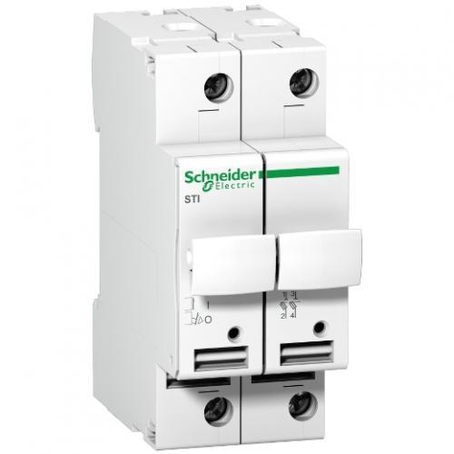 SCHNEIDER ELECTRIC - Разединител стопяем предпазител Acti 9 STI 2P 25A 10.3X38 mm A9N15651