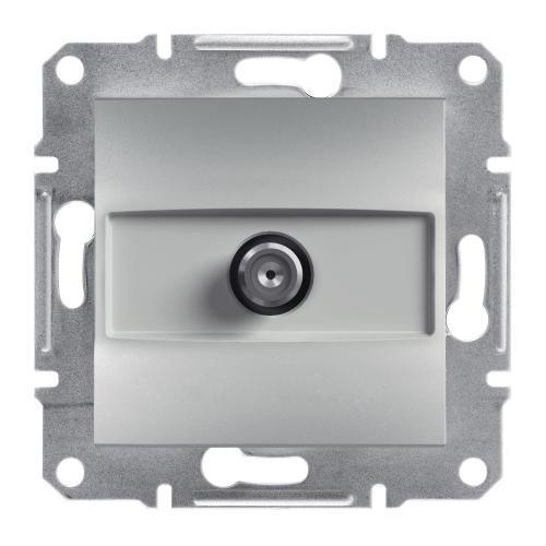 SCHNEIDER ELECTRIC - SAT розетка крайна 1dB алуминий Asfora EPH3700161