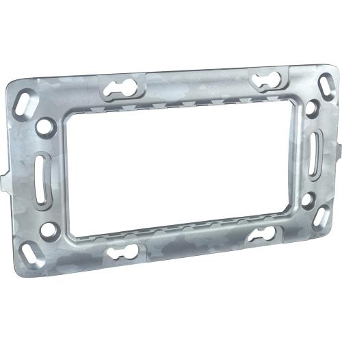 SCHNEIDER ELECTRIC - MGU7.104 Unica - rectangular fixing frame - 4 m - 1 gang