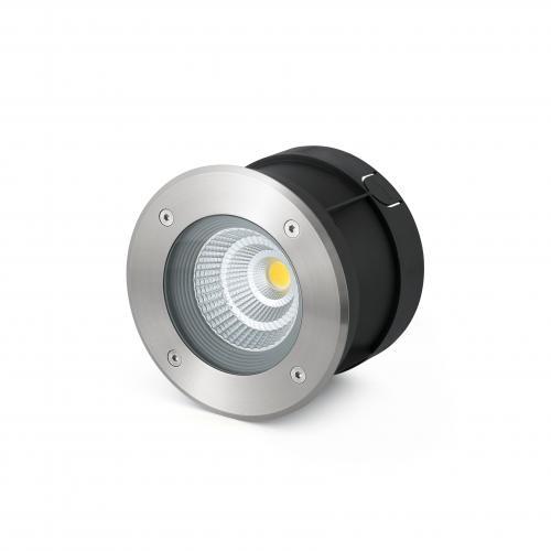 FARO - LED Луна за вграждане влагозащитена IP67 за външно осветление SURIA-12 LED 70593N