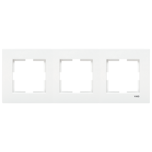 VIKO - 9096 0202 3 Gang Frame Horizontal