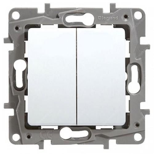 LEGRAND - 764506 NILOE Сериен ключ бял сх.5