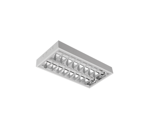 INTO - Recessed mounted luminaire fluorescent T8 2*18W OM