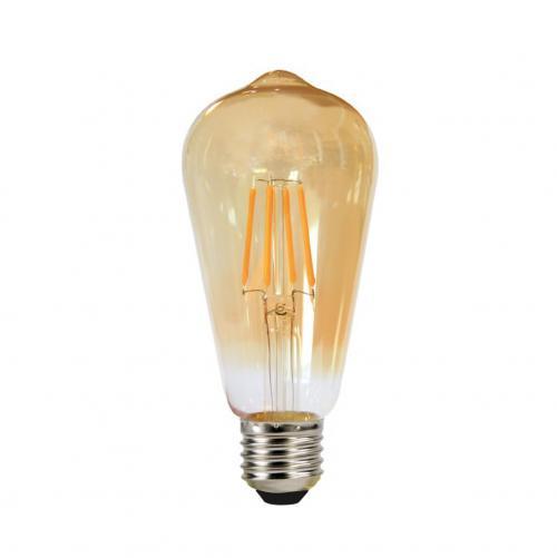 TNL - LED лампа FILAMENT E27 4W 2700K 360° ST64 SS Опушена