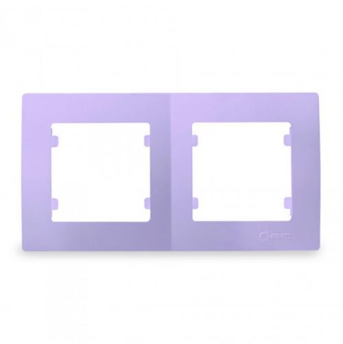 MAKEL - Двойна рамка светло лилава Lillium Natural Kare 32095702