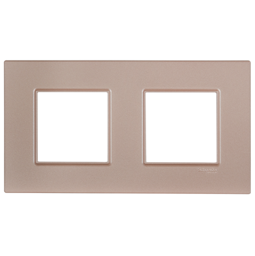 SCHNEIDER ELECTRIC - MGU4.704.37декоративна рамка двойна сьомга Unica Quadro