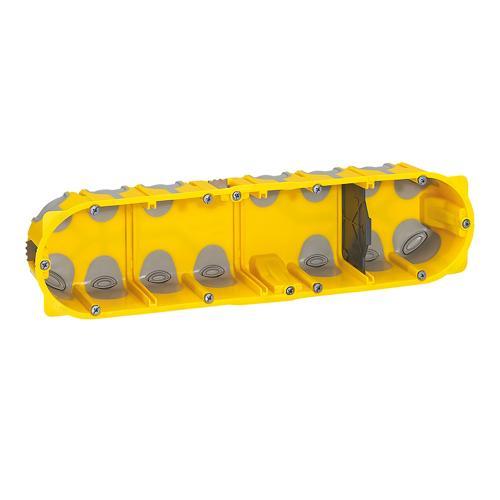 LEGRAND - 80024 Конзола за гипс картон 10 мод. 40мм ECOBatibox с гумени мембрани