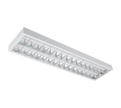 INTO - Recessed mounted luminaire fluorescent T8 2*36W OM