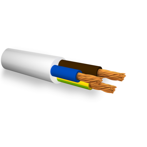 БЪЛГАРСКИ КАБЕЛ - Кабел FROR 5x1 мм2, 450/750V не поддържащ горене