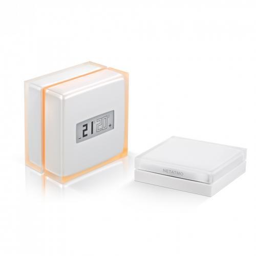 NETATMO - Свързан Термостат Smart NTH01-EN-EU