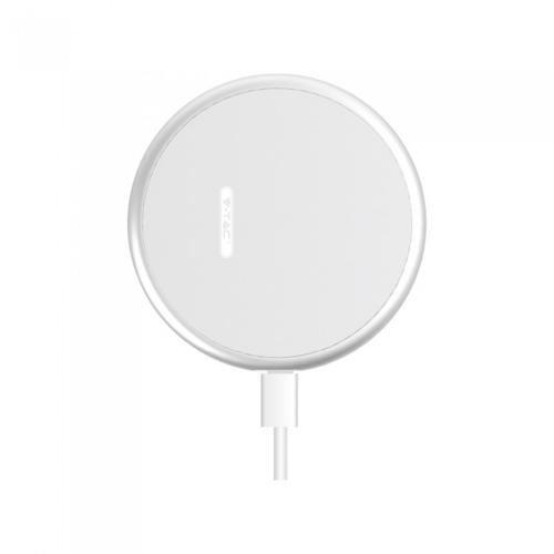 V-TAC - Wireless Charger 5A Fast Charging Round White SKU: 7709 VT-1210