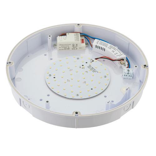 SAXBY - Плафон  FORCA microwave 77893 LED 12W, 1140LM, 4000K, IP65