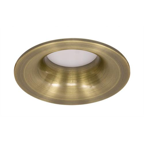 ULTRALUX - LVSRMR16AB Ceiling downlight, round, fixed, antique brass, non-waterproof IP20