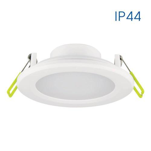 VIVALUX - Влагозащитена LED луна за вграждане PUNTO LED 8W WH/WW 3000K  VIV003558