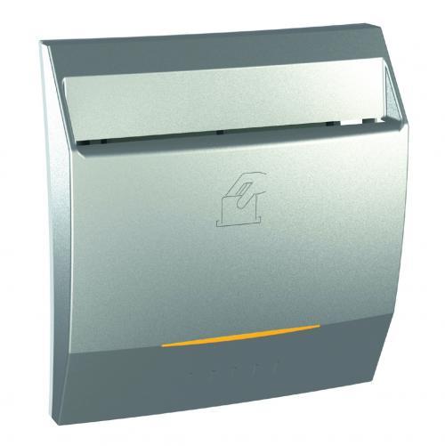 SCHNEIDER ELECTRIC - MGU3.540.30 Ключ-карта с времезакъснение 8А Unica Top алуминий