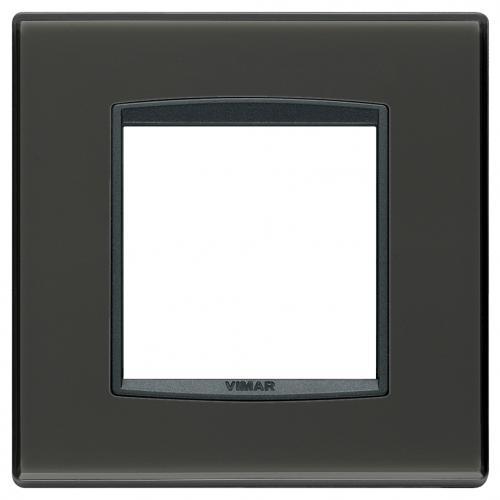 VIMAR - 20642.40 - Classic plate 2M Reflex graphite