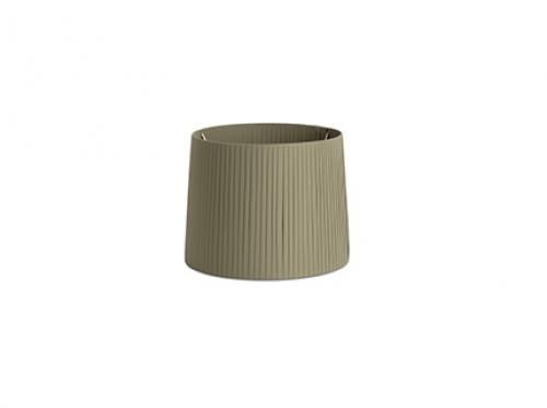 FARO -  MAMBO Olive green ribbon textile shade ø400×300 2P0637