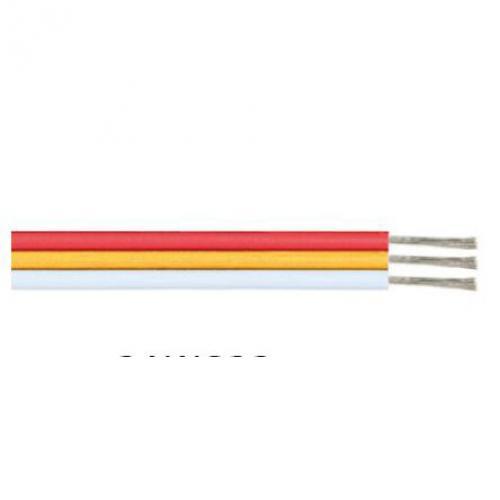 ACA LIGHTING - Кабел червен жълт бял 17 x 0.12mm 3AWG22