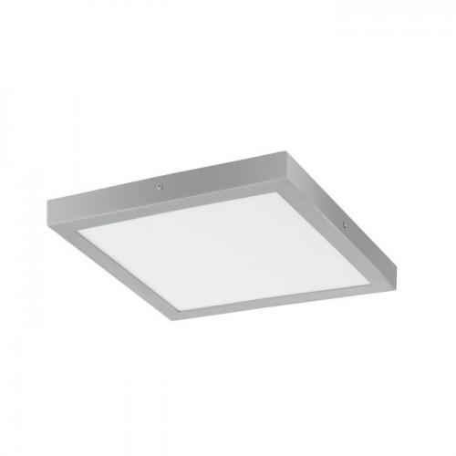 EGLO - ПЛ LED панел 25W 2500lm 3000K 400X400 сребро 'FUEVA 1' 97265