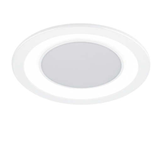 TRIO - LED панел за вграждане  10 W  бял  CORE – 652610131
