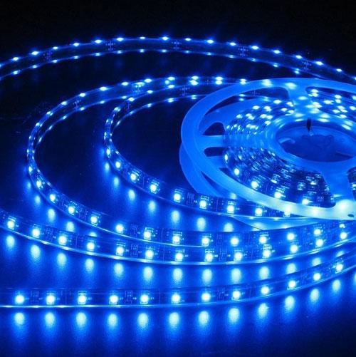 ULTRALUX - LSNW283560B LED лента SMD2835, 4.8W/m синя, 12V DC, 60 LEDs/м, 5m, неводоустойчива