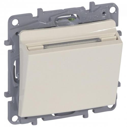 LEGRAND -  6 648 93 Key card switch Niloé - ivory