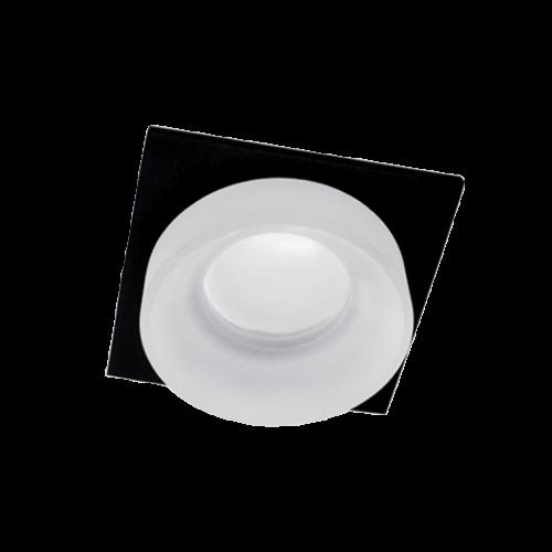 ELMARK - SA-045/1 луна за вграждане квадрат черна/бяла 92045S1/BLFR