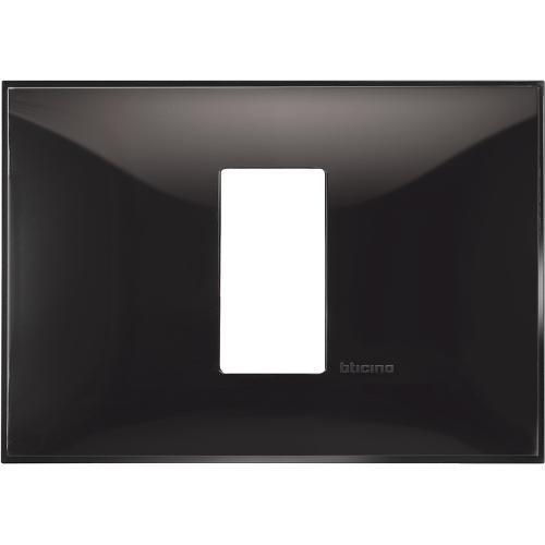 BTICINO - R4803M1BC Рамка 1М италиански стандарт черно Classia