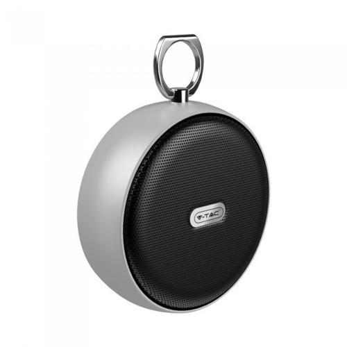 V-TAC -  Преносима Bluetooth Колона Micro USB 800mah Сива SKU: 7717 VT-6211