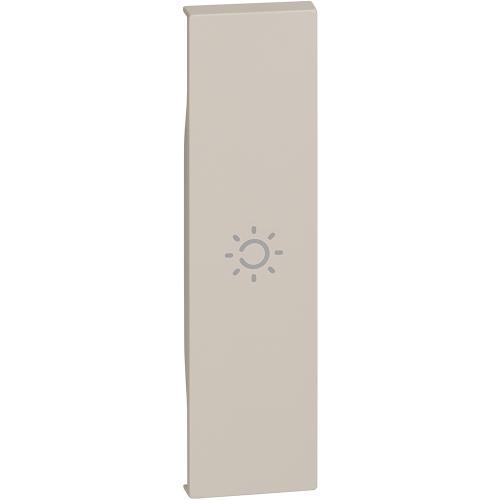 BTICINO - Лицев панел със символ лампа 1 мод. цвят Крем Living Now KM01A