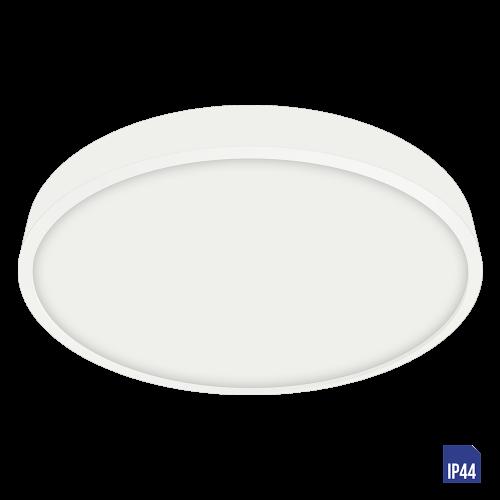 LUXERA - LED панел 24W влагозащитен IP44 външен монтаж LENYS  49037 бяло