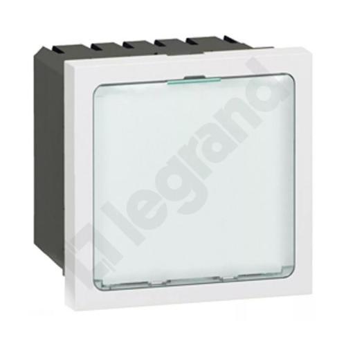 LEGRAND - 78520 Сигнална лампа 0.2 и 1W нива на мощност 230V 2 мод. Mosaic бял