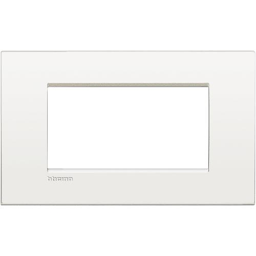 BTICINO - LNC4804BN Рамка 4М white pure Livinglight AIR