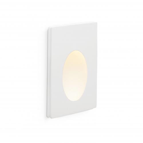 FARO - LED панел за вграждане  1W  бял PLAS-1 LED 63281