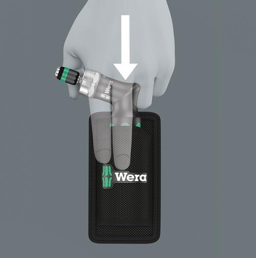 WERA - Г-образна тресчотка с битове Kraftform Kompakt Pistol RA (7 части)