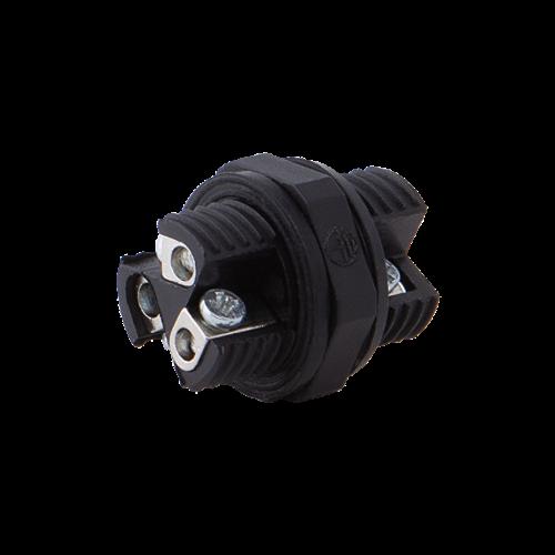 ULTRALUX - KW3PL10 Влагозащитен конектор L10, 3 пина, IP68