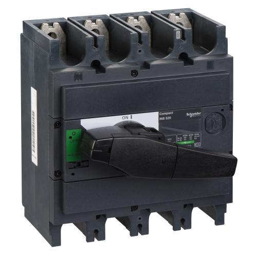 SCHNEIDER ELECTRIC - Товаров прекъсвач INS320 4P 320A с ръкохватка ComPact 31109